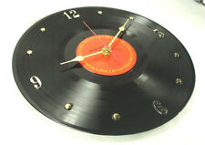 "Recycled BRUCE SPRINGSTEEN Record ""The River"" (1980) - Vinyl Wall Clock"