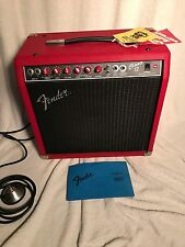 Fender Champ 12 Amp Amplifier Rare Faux Red Reptile