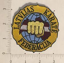 Latvijas Karatē Federācija Patch - Latvia - Martial Arts