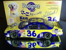Rare Ken Schrader #36 M&M's Pedigree 2001 Pontiac Grand Prix 1:24 1 of 3,252