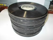 Lot of 25 Antique Vintage Original Edison Diamond Disc Records for Phonograph