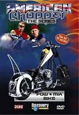AMERICAN CHOPPER THE SERIES - POW * MIA BIKE 3 PROGRAMME DVD - FREE POST IN UK