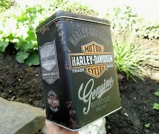 Official GENUINE HARLEY-DAVIDSON Motorcycles High Tin Storage / Lunch Box