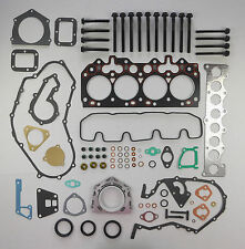 FULL HEAD SUMP GASKET SET BOLTS DEFENDER DISCOVERY RANGE ROVER 2.5 300 TDi VRS