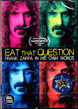 FRANK ZAPPA eat that question DVD NEU OVP/Sealed