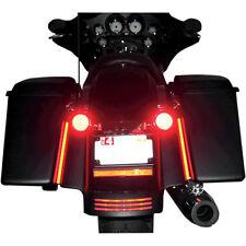 """Custom Dynamics 10"""" Plasma Rod Tail Light Kit Harley Davidson Road King"""