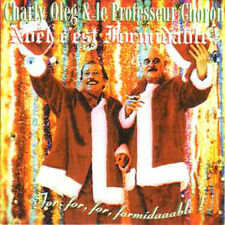 CD SINGLE Charly OLEG & le professeur CHORON Noel c'est formidable ++ CULTE !! +