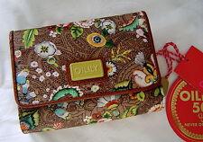 Oilily Damen Brieftasche Geldbörse Wallet Farbe: Tobacco