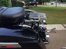Stealth Luggage Rack + 4 point docking kit  Harley Davidson Touring 2009-2013