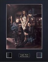Vampire Diaries Ver1 Signed Photo Film Cell Presentation