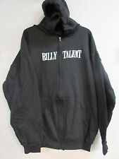 NEW - BILLY TALENT BAND CONCERT MUSIC ZIP UP HOODIE SWEATSHIRT EXTRA LARGE