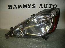 HONDA FIT LH HEADLIGHT 09 10 11 12 2009 2010 2011 2012  CHROME USED