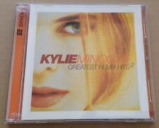 Kylie Minogue - Greatest Remix Hits 2 Dbl Cd Album Rare Australian Mushroom