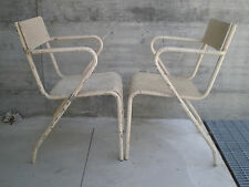 SEDIE DESIGN INDUSTRIALE 30 40 50 METALLO CROMO BAUHAUS CHAIR VINTAGE EPOCA