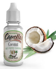 Capella Flavoring Coconut Flavor Concentrate 13ml Vape water shakes