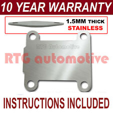 Vauxhall OPEL VECTRA ZAFIRA SIGNUM ASTRA egr plaque d'obturation permettant 1,5 mm inoxydable NZ