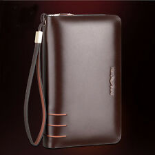 Men Real Leather Handbag Business Clutch Bag Wallet Briefcase Casual Purse
