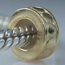 ANDANTE-STONES MASSIV 925 SILBER GOLD BEAD STOPPER CLIP* #1658 + GESCHENK