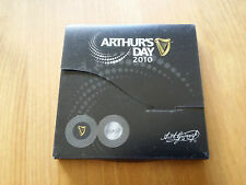 GUINNESS BEER MEMORABILIA PROMOTIONAL GIFT ARTHURS DAY 2010 2X SOUVENIR COASTERS