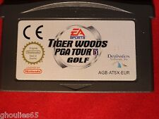 TIGER WOODS PGA TOUR GOLF GAME BOY ADVANCE TIGER WOODS PGA TOUR GOLF GBA