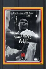 Gambia 2008 MNH Muhammad Ali Greatest of All Time 1v S/S II Boxing Stamps