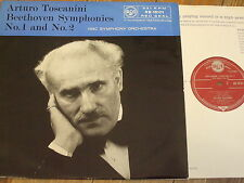 RB 16101 Beethoven Symphonies Nos. 1 & 2 / Toscanini GROOVED R/S