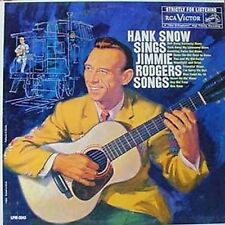 HANK SNOW - SINGS JIMMIE RODGERS SONGS - RCA LP