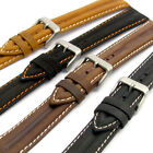 Genuine Leather Water Resistant Watch Strap Band 16mm 18mm 20mm 22mm