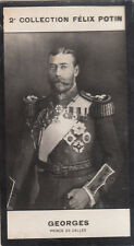 PORTRAIT George V  King of the United Kingdom  CARD IMAGE 1907