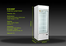 ICE350F  350LT 1 DOOR COMMERCIAL DELI DISPLAY FREEZER 670(w)*700(d)*1980(h)MM