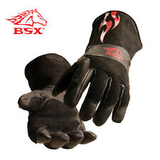 Revco BS50 Premium Split Cowhide BSX Stick/MIG Welding Gloves Size Medium