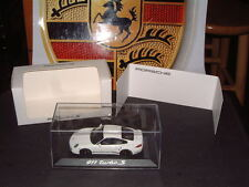 PORSCHE MUSEUM DIE CAST 1:43 SCALE MODEL OF THE 911 (997) TURBO S LTD EDITION!