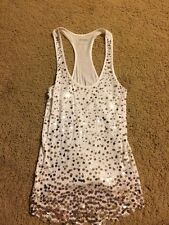 Express Sequined Tank Top Size Small