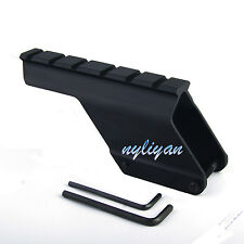 Scope Shotgun 20mm Rail Mount Fits Remington 870 Saddle Mount Hunting