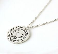New Stylish I love you a bushel and a peck and a hug around the neck Necklace