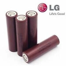 4 Authentic LG HG2 18650 HIGH DRAIN 20 (Max 35 Amp) 3000mAh 3.7V Batteries