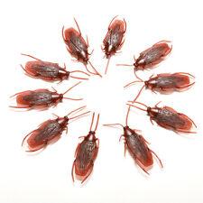 10 pcs Prank Funny Trick Joke Special Lifelike Model Fake Cockroach Roach Toy