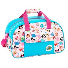 Disney Tsum Tsum Blue Travel Sports Shoulder Hand Bag School Gym Overnight