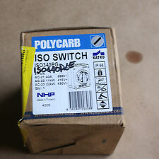 NHP Katko Polycarb ISO Switch ISO440P LE 40A amps