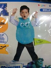 Monsters University Sulley Costume 2T Small Disguise Halloween Dress Up