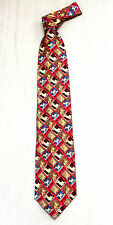 Korea Silk Tie Lion king picture high quality