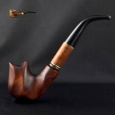 "HAND MADE  LARGE WOODEN SMOKING PIPE      "" New Dali ""   Churchwarden"