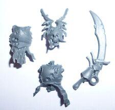 Warhammer edad de Sigmar Condes vampiro esqueletos Cabeza Torso campeón espada Y651