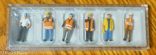 Preiser HO #10420  Modern Workmen -- With Warning Vests