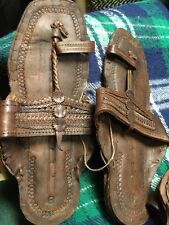 BUFFALO SANDALS Dk Jesus CREEPERS 60S RETRO SANDAL SLIPPER TOE RING SHOES SZ 8