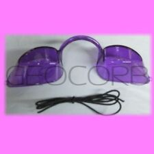 PURPLE EYE CANDY TANNING BED EYEWEAR GOGGLES FOR UV PROTECTION EYE WEAR INDOOR