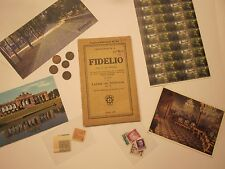 VIENNA ANTIQUES BEETHOVEN FIDELIO COINS STAMPS CARD MAGNET 35 SOUVENIRS  #3