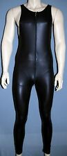 MANSTORE M 510  Atletic Suit Full Body mit Zip  black  M L XL oder XXL