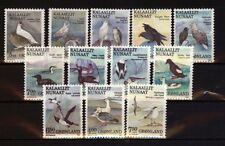 Grönland Vögel 4 Ausgaben postfrisch