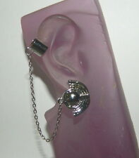 Star Trek Deep Space Nine Bajoran Major Kira Style Ear Cuff Earring, NEW UNUSED